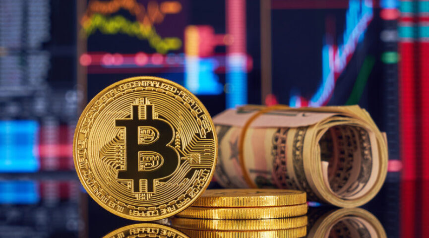 Капитализация криптовалюты биткоин приближается к $1 трлн